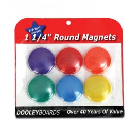 Round Magets- 6 pack