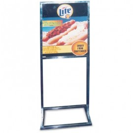 "14 x 22"" Rectangular Tube Stand Pedestal Sign"
