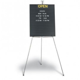 "22 x 28"" Open/Closed Single Sided Open Face Letterboard"