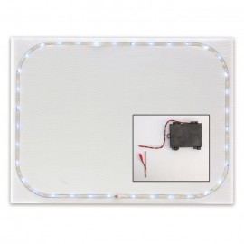 """Printable Corrugated LED Sign 18 x 24""""- Single Board w/ Battery Pack"""