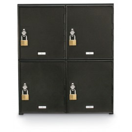 "22 x 26"" x 16"" - ""D"" Size Doors - Hasp Lock - Personal Privacy Lockers"