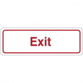 Exit Directional Sign