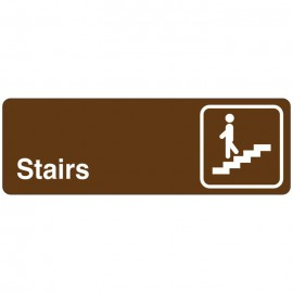 Stairs Directional Sign