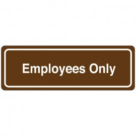 Employess Only Directional Sign