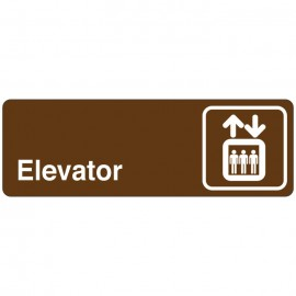 Elevator Directional Sign