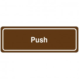Push Directional Sign