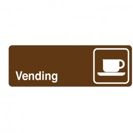 Vending Directional Sign