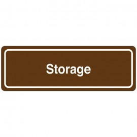 Storage Directional Sign