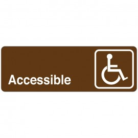 Accessible Directional Sign