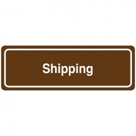 Shipping Directional Sign