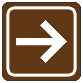 Arrow Directional Sign