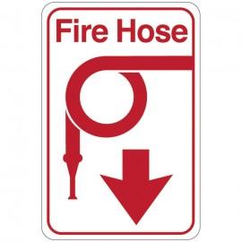 Fire Hose Facility Sign