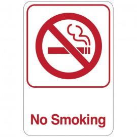 No Smoking Facility Sign