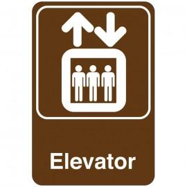 Elevator Facility Sign