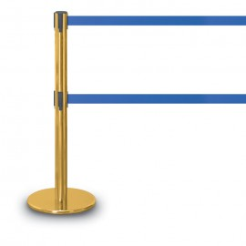 Gold Polished Double Tape Posts- 1300 Series 7'