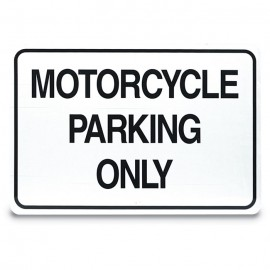 "18 x 12"" Custom Parking Lot Sign"