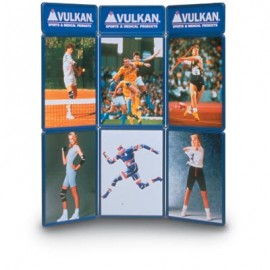 "72 x 84"" 9 Panel Freestanding Portable Display"