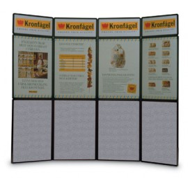 "96 x 84"" 12 Panel Freestanding Portable Display"