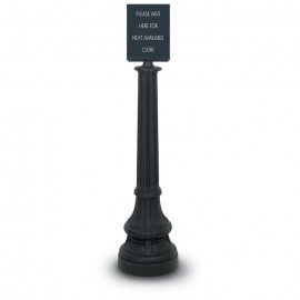 Sign Finial Formal Colonial Rope Posts- 1400 Series