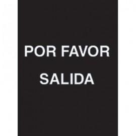 """7 x 11"""" Por Favor Salida Acrylic Sign"""