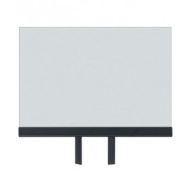 """14 x 11"""" Acrylic Sign Holder for Tape Post"""