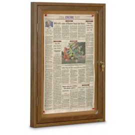 "19 x 28"" Wood Restroom Boards"