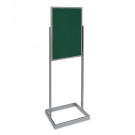 """22 x 28"""" Open Faced Pedestal Easy Tack Board"""