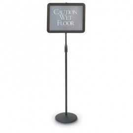 "14 x 11"" Adjustable Pedestal Sign Holder"