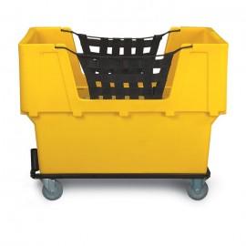 """48 x 31 1/2"""" x 37"""" Plastic Basket Truck"""