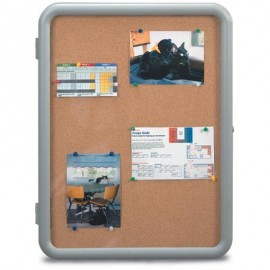 "18 x 24"" ""Image"" Enclosed Corkboards- Corkboard"