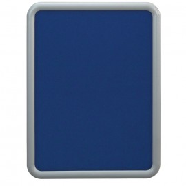 "18 x 24"" ""Image"" Corkboards- Cobalt Accent Fabricboard"